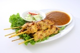 photo satay chicken