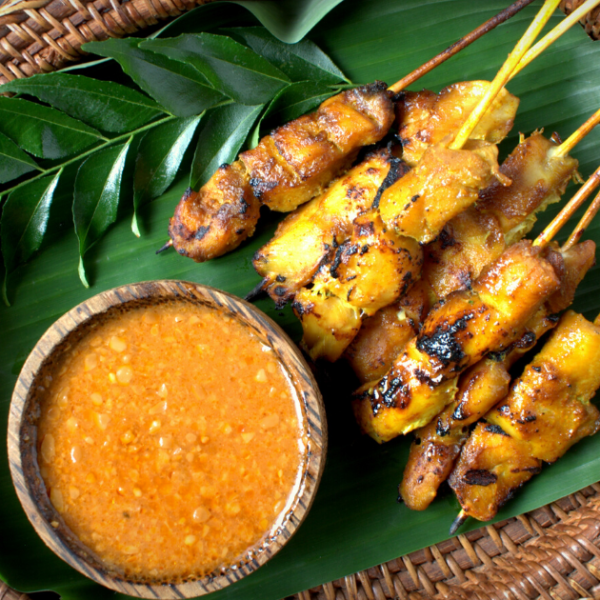 Chicken Satay Sticks GF, DF