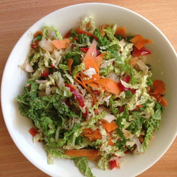 Spicy Salad with Secret Sauerkraut