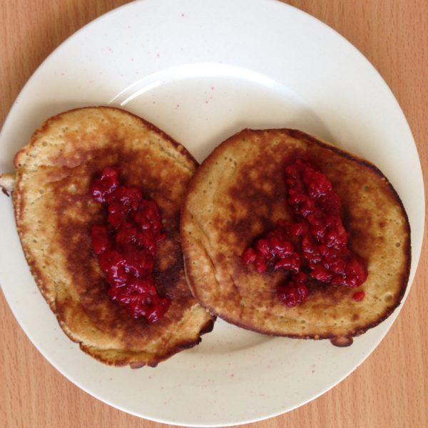 Healthy pancakes GF DF