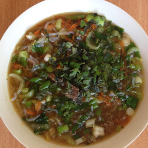 Super gut healing Spicy Soup in 10 minutes